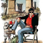Napoli omaggia Bruno Brindisi, matita di Dylan Dog