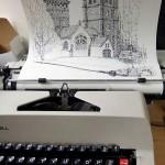 I disegni di Keira Rathbone, l'artista della macchina da scrivere