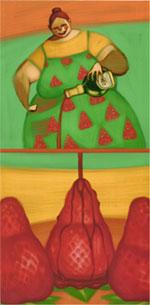 """Particolare del trittico """"I colori del Gusto"""", 2002"""