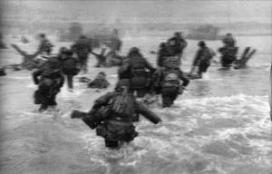 Robert Capa, DDay, Omaha Beach, 1944